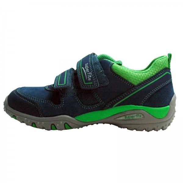 Jungen SPORT4 Sneaker SUPERFIT Blau Kombi, Techno Textil