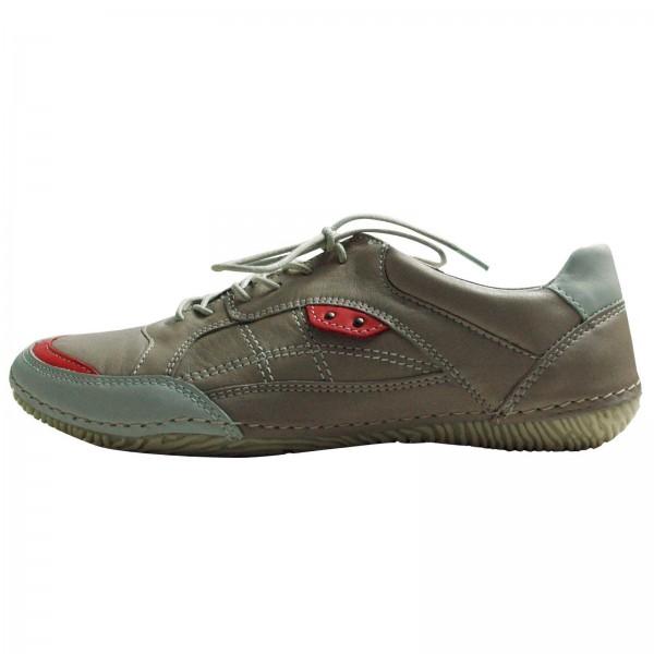 Jana Damen Sneaker, Schnürhalbschuh, 882361020202, Grey Comb, Weite H