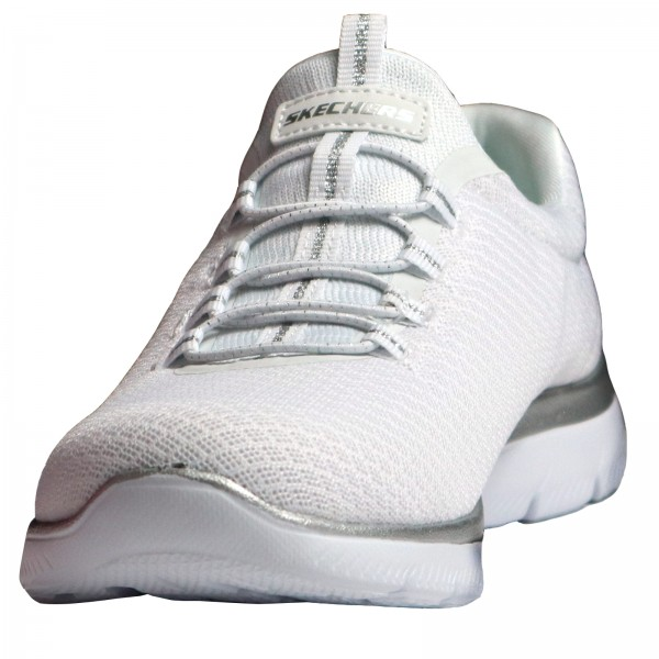 Skechers Damen Sneakers White/Silver 12980 WSL