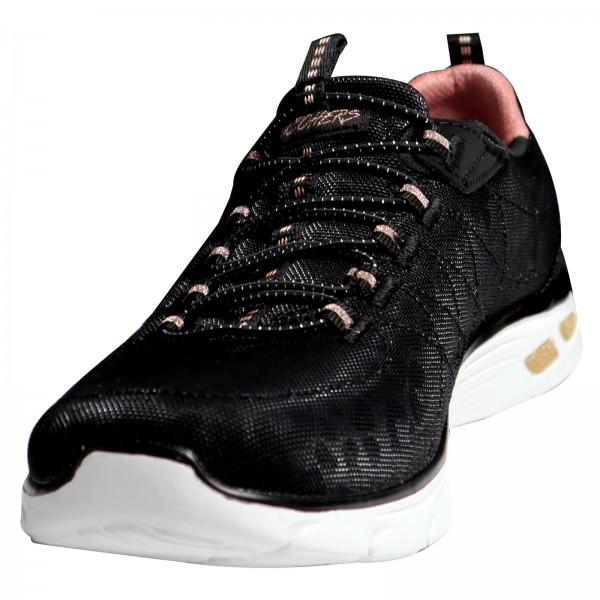 Skechers Damen Sneakers Black/Rose Gold 12825 BKRG