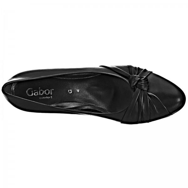 Gabor Pumps Foulardcalf schwarz