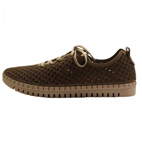 Tamaris Damen Sneaker Braun (Light Taupe)