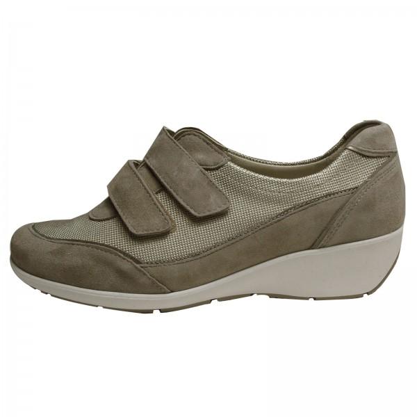 Waldläufer Damen Sneakers Kina 685301300554, corda lightgold, Weite K