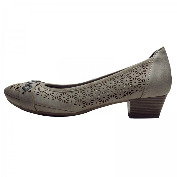 Marco Tozzi Damen Pumps 222250528241, LT.GREY ANTIC
