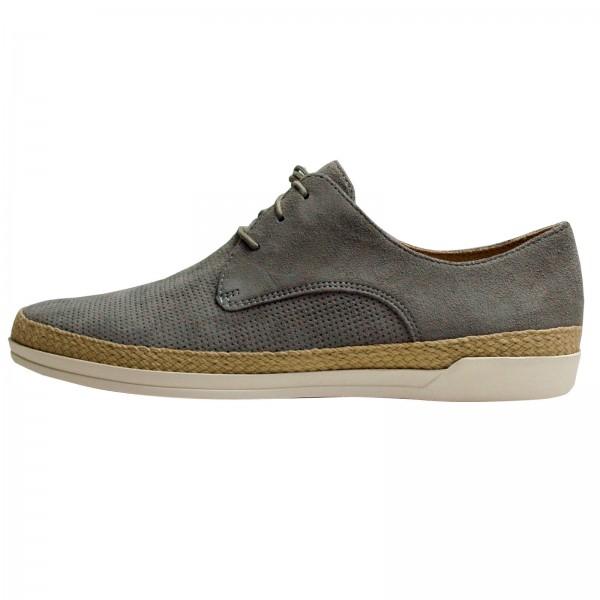 Caprice Damen-Sneaker 9- 9-23503-28201,LT GREY SUEDE, weite G
