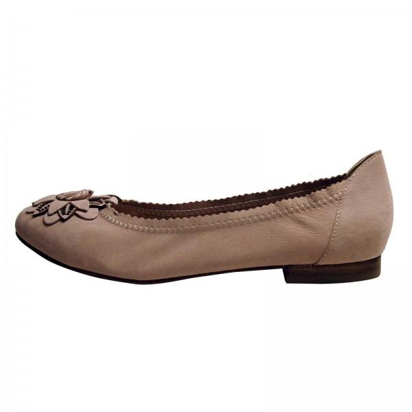 Caprice Damen-Ballerinas, rosa, Schuhweite G