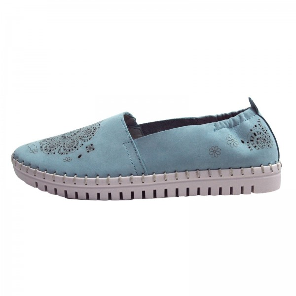 Tamaris Damen Slipper, blau