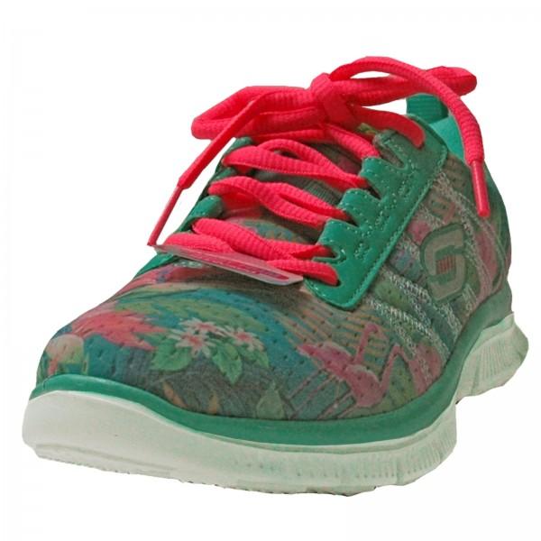 Skechers Mädchen Sneakers Skech Appeal Floral Bloom Aqua/Multi 81878L/AQMT
