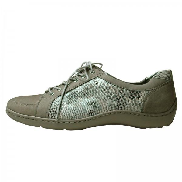 Waldläufer Damen Sneakers Henni 496005407070 Denver Monet 2x Denver Stein, Weite H