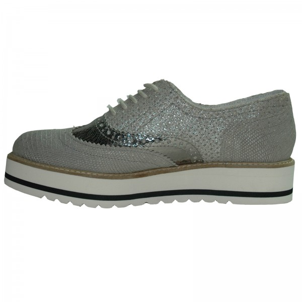 SPM Damen Sneakers Alicante Low Derby 61746394 silber