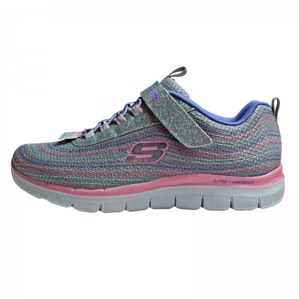 Skechers Mädchen Sneakers SKECH APPEAL 2.0 MINI-METAL MADNESS, 1658L/ LGMT